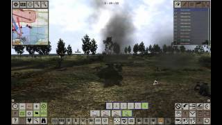 Achtung Panzer Operation Star gameplay