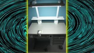 Стол зуботехнический(Стол зуботехнический. Применяется в работе зубными техниками. Стоматологическое оборудование очень удобн..., 2016-10-13T09:57:16.000Z)