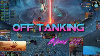 World Of Warcraft   Off Tanking ICC 25 HC Full Run  ✅ Blood DK