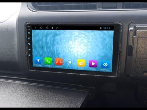 Штатная магнитола Toyota (+Daihatsu) (2016+) универсальная 2DIN (230х130) Android ZOY-16
