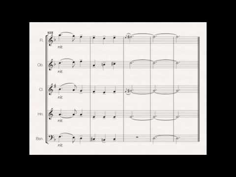 Christmas Suite for Wind Quintet (Sleigh Ride, Carols of the Bells, Silent Night, etc)