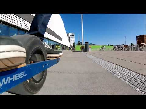 Onewheeling in Tapiola and Otaniemi