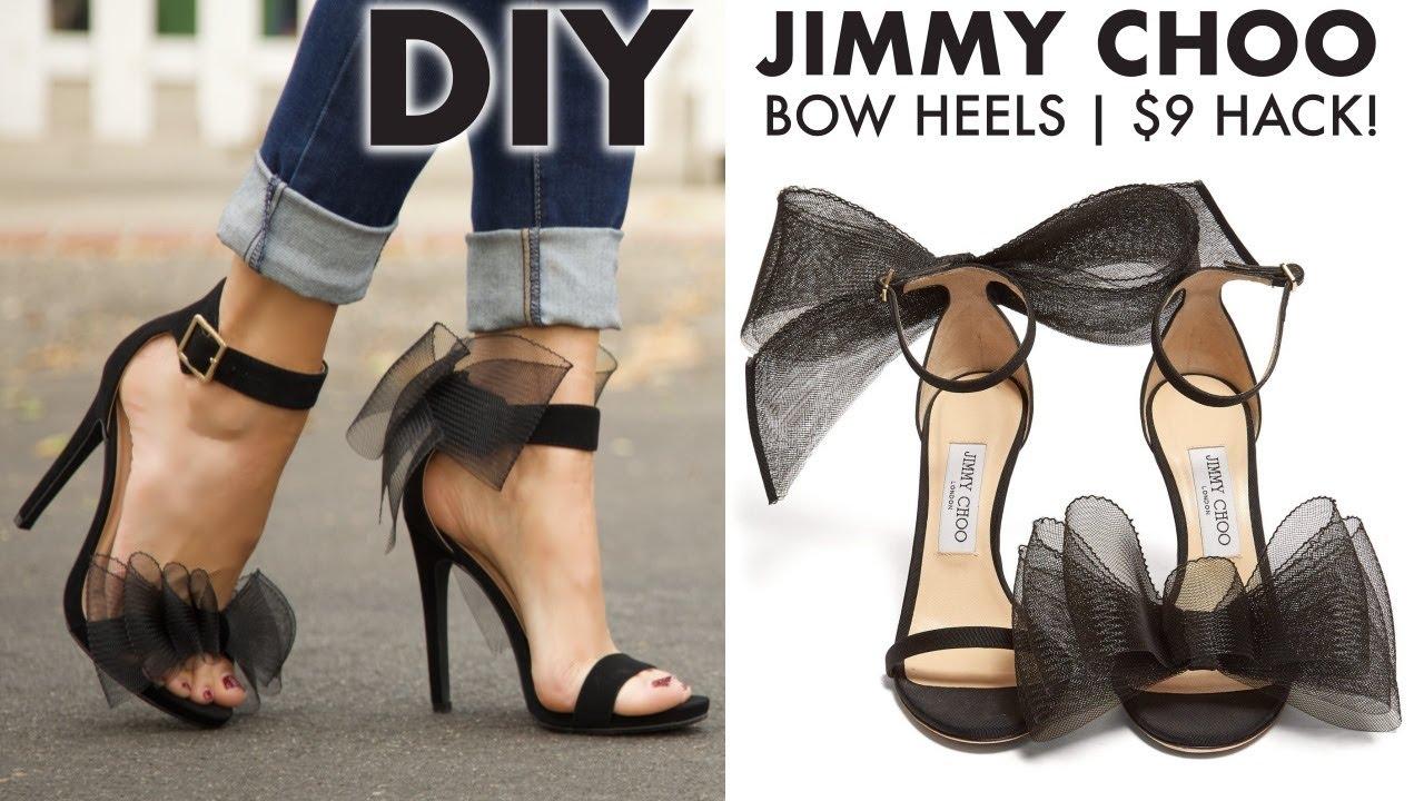 DIY: How To Make JIMMY CHOO BOW Heels