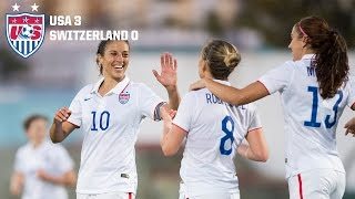 WNT vs. Switzerland: Highlights - March 6, 2015