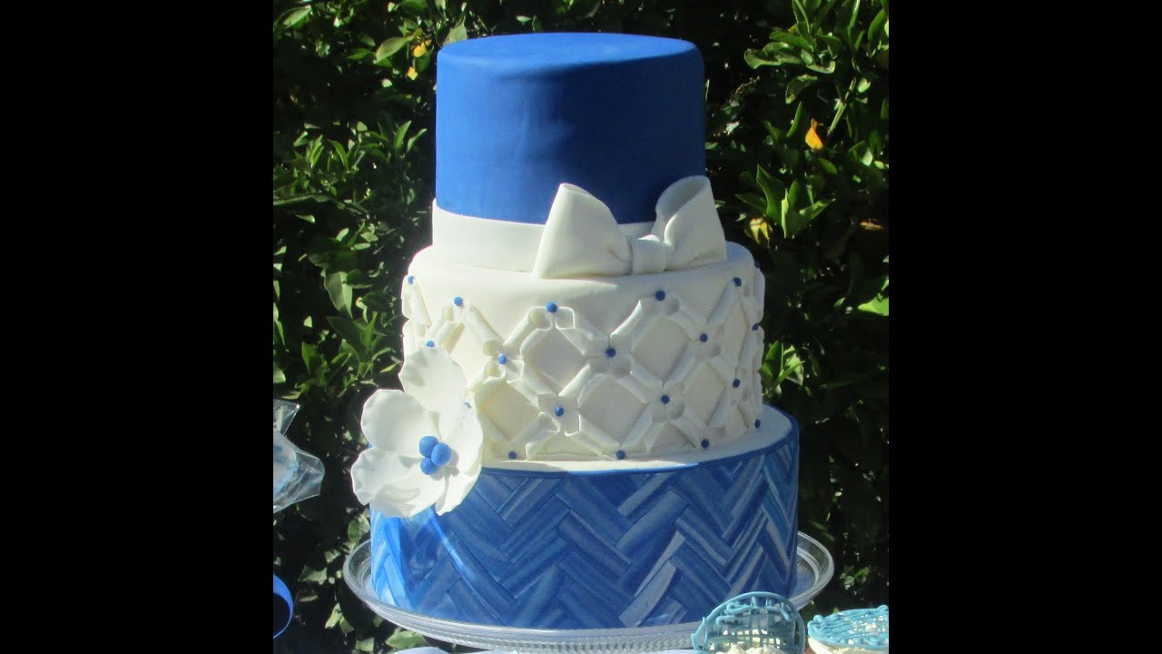 Three Tier Party Cake, Big Cake For Small Party