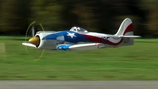 "Rc Sea Fury ""Spirit of Texas"" Moki 250cc"