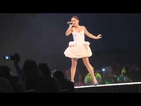 Ariana Grande Singing Bruno Mars Gr anade at Disney Orlando Live Show