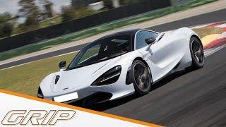 Driftmaschine für schnelle Rundenzeiten | McLaren 720S | GRIP