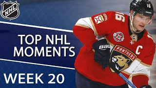 NHL top moments of Week 20   NBC Sports