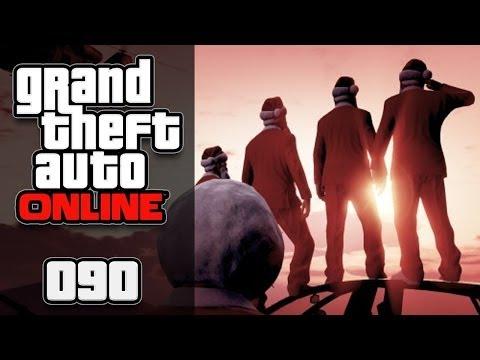GTA ONLINE [HD+] #090 - BARRY CADE live auf der Maze Bank!! ★ Let's Play GTA Online - 동영상