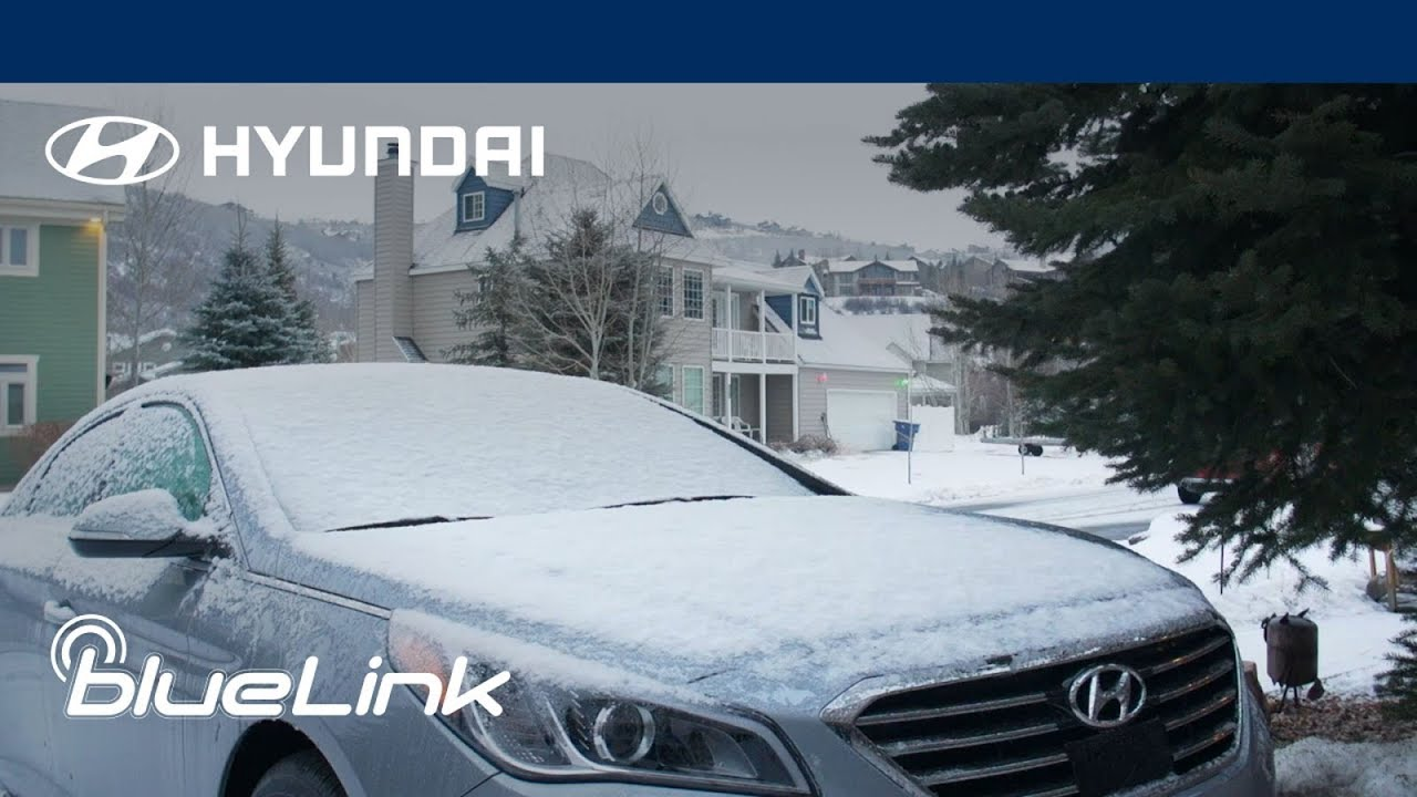How to Remote Lock, Unlock and Start in Cold Weather | Hyundai Blue Link®
