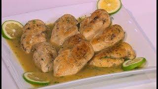 صدور الدجاج بصوص الليمون دايت  | سالي فؤاد