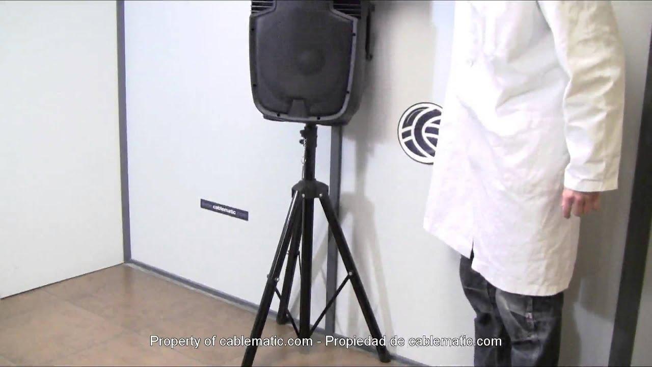 Soporte de altavoz tr pode 160cm distribuido por - Soportes altavoces pared ...