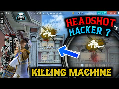 Freefire best player kills + headshot hacker ? 🔥