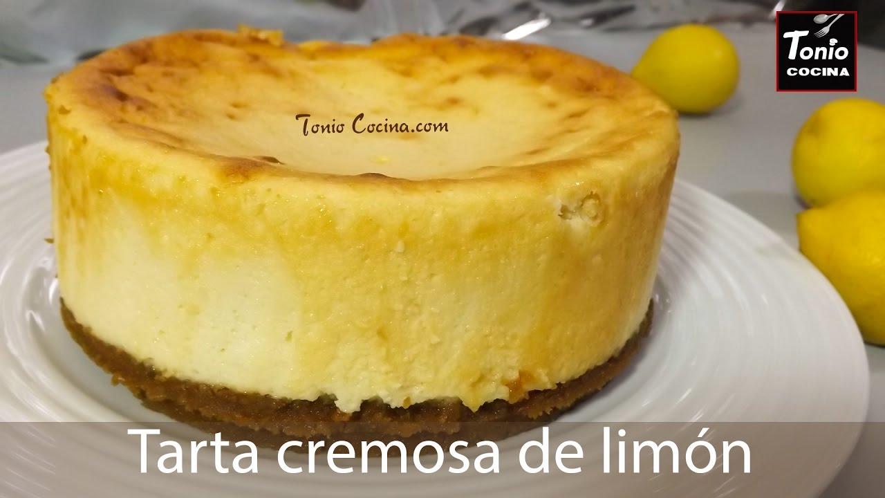 Tarta Cremosa De Lim 211 N R 225 Pida Y F 225 Cil Lemon Cake Tonio Cocina Youtube