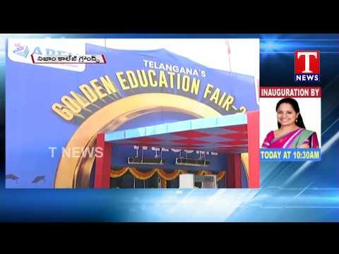 Live Updates From Nizam College Grounds | T News Apex Golden Education Fair 2018 | T News live