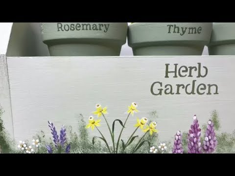 Garden caddy tutorial from You Can Folk It