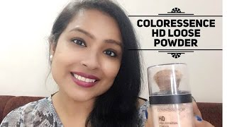 Coloressence HD Loose Powder Swatch amp Review
