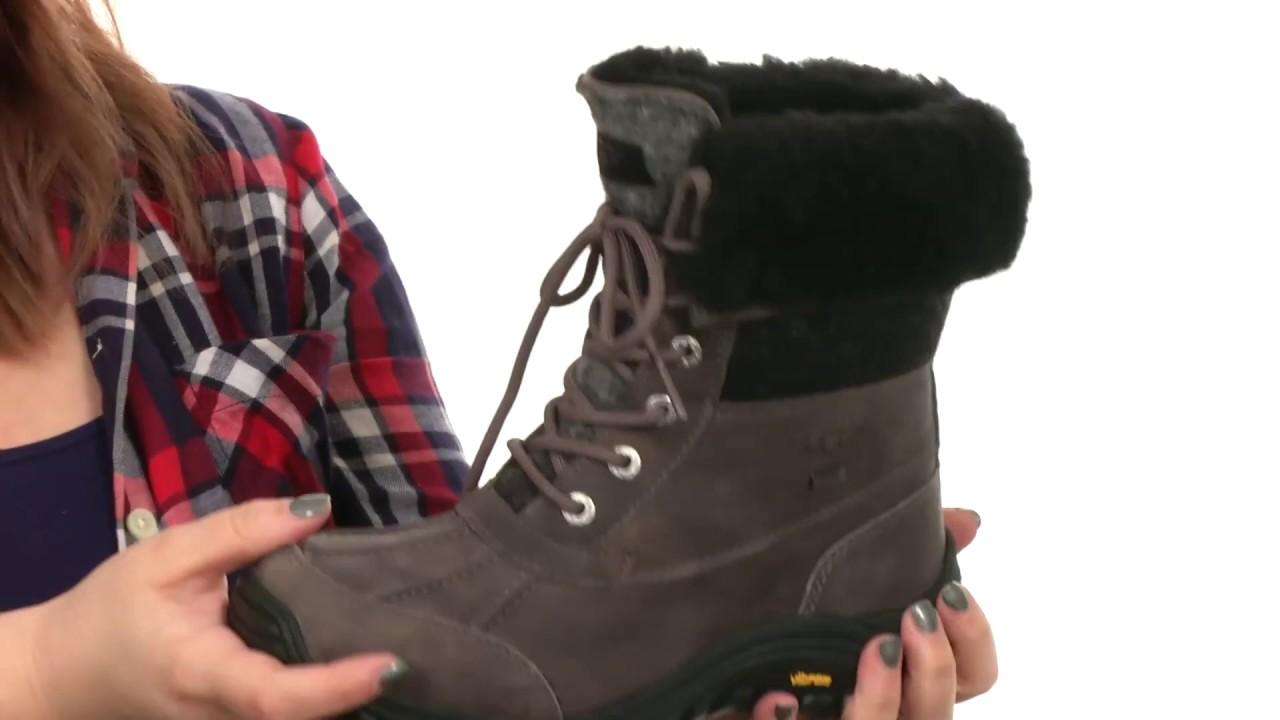 womens ugg adirondack boots