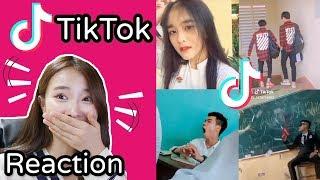 [Reaction] Người Hàn Quốc/ Tik Tok Học Sinh Việt Nam/ Những học sinh đáng yêu
