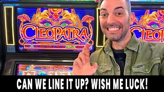 🎰 PAYING QUEEN CLEOPATRA ⭐ PacMan Comes out to PLAY 🍒 Ho-Chunk Gaming Madison #ad