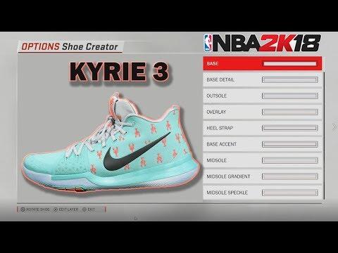 NBA 2K18 Shoe Creator  9ae9782a5