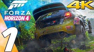 Forza Horizon 4 - Gameplay Walkthrough Part 1 - Full Game [4K 60FPS ULTRA]