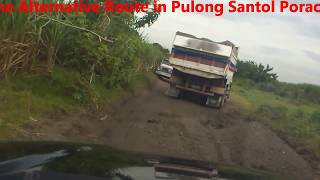 Bumpy Ride - Provincial Road of Santa Rita to Porac Pampanga! (its a nightmare!)