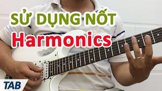 Áp dụng kỹ thuật Harmonic khi đệm Rock Metal | Học đàn guitar | Học guitar điện miễn phí