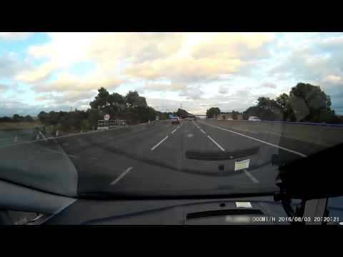 Psychotic driver from Toner Transport and Logistics tries to cause massive crash on M1