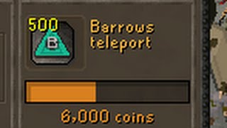Making 500 NEW Barrows tablets for amazing profit