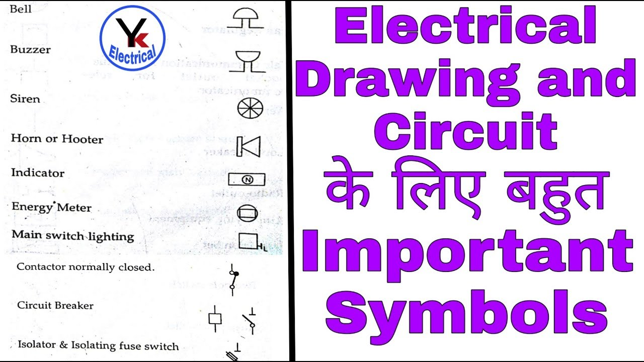 Electrical Symbols Electrical Diagram Symbols Wiring Diagrams With