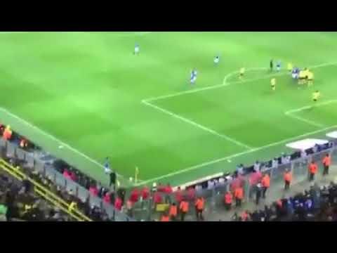 Borussia Dortmund vs. Schalke 04, 94. Minute Naldo 4:4 live im Stadion !!!