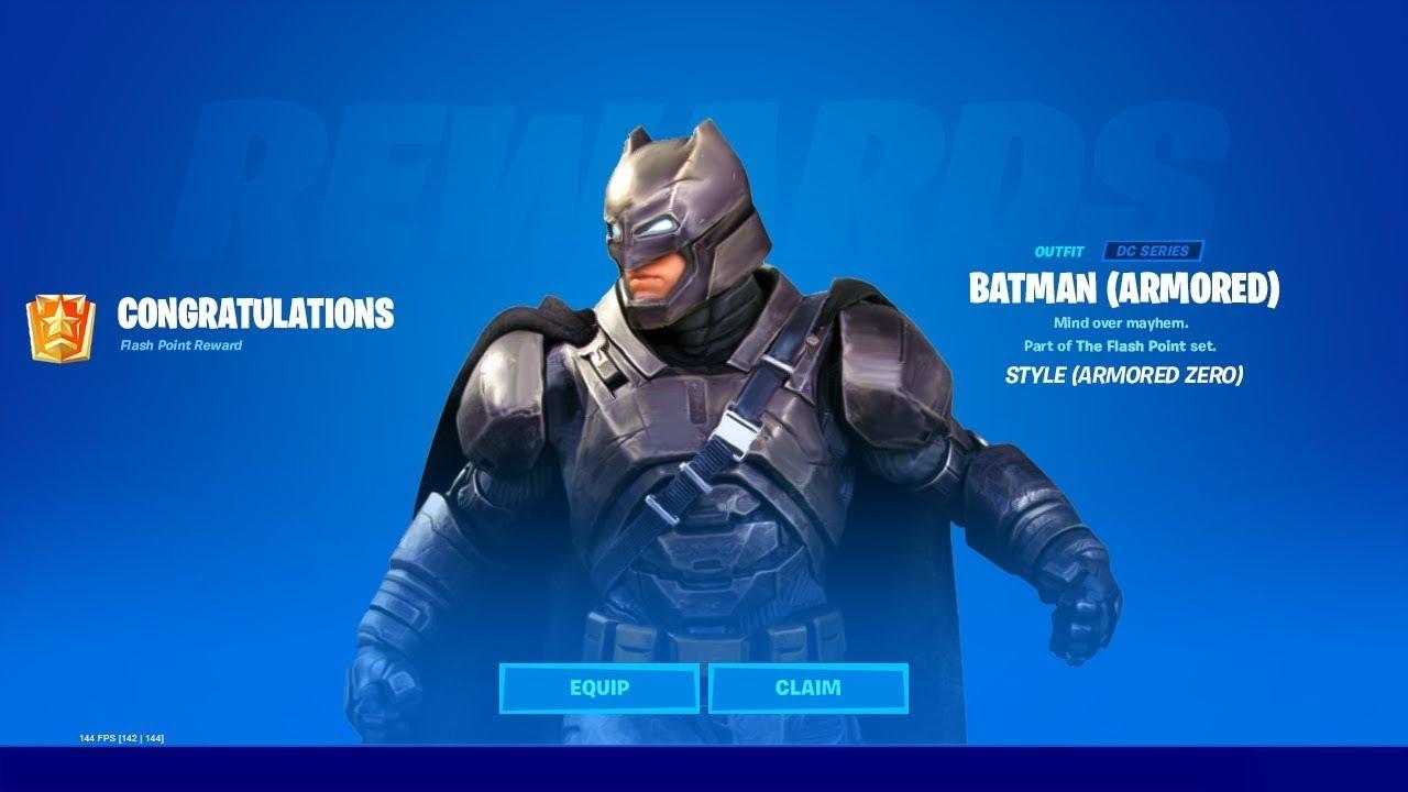 Fortnite Batman Sale Como Conseguir El Codigo De La Skin Batman En Fortnite Youtube