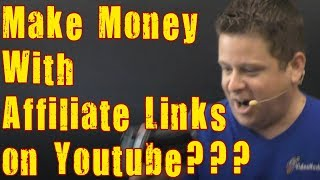 Make Money With Affiliate Links On Youtube??? Affiliate Marketing Tips For Youtubers.