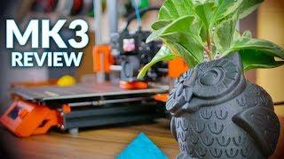 The most important 3D printer - Original Prusa i3 MK3 review!