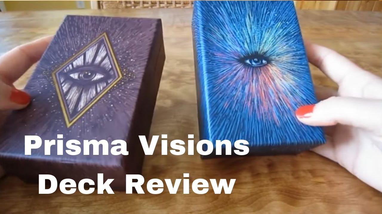 Prisma Visions Tarot & Light Visions Tarot Deck Review | Daily Tarot