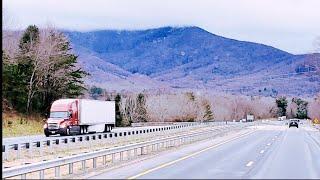 South Carolina To Illinois ~~The Kenworth Screams Up Black Mountain #263
