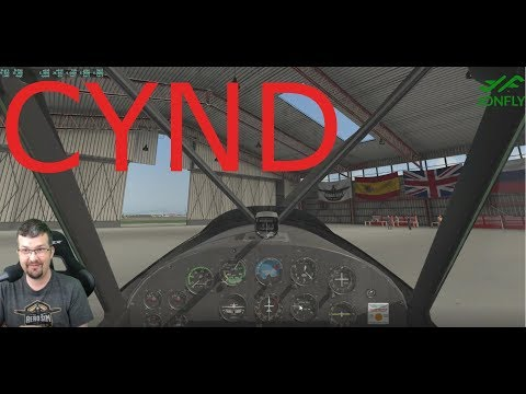 Part 3 Super Cub -  Gatineau CYND - One of the coolest airports available