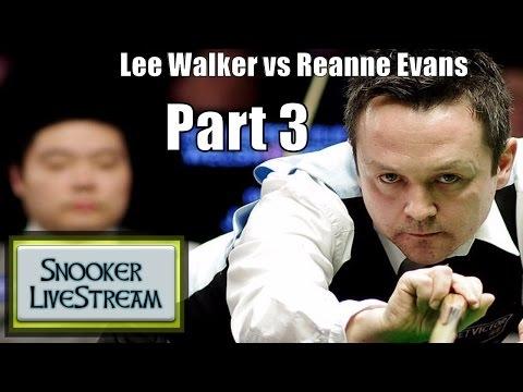 Lee Walker v Reanne Evans R2 World Championship Part 3 2017 - Snooker LiveStream