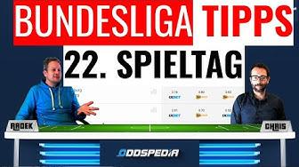 BUNDESLIGA VORHERSAGE - Tipps und Prognose zum 22. Spieltag der 1. deutschen Fußball-Liga