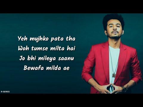 Mamla Dil Da (Lyrics) - Tony Kakkar | ...