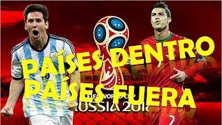 ¡Todos los países clasificados y eliminados del mundial de Rusia 2018! Sorpresas y Repechajes