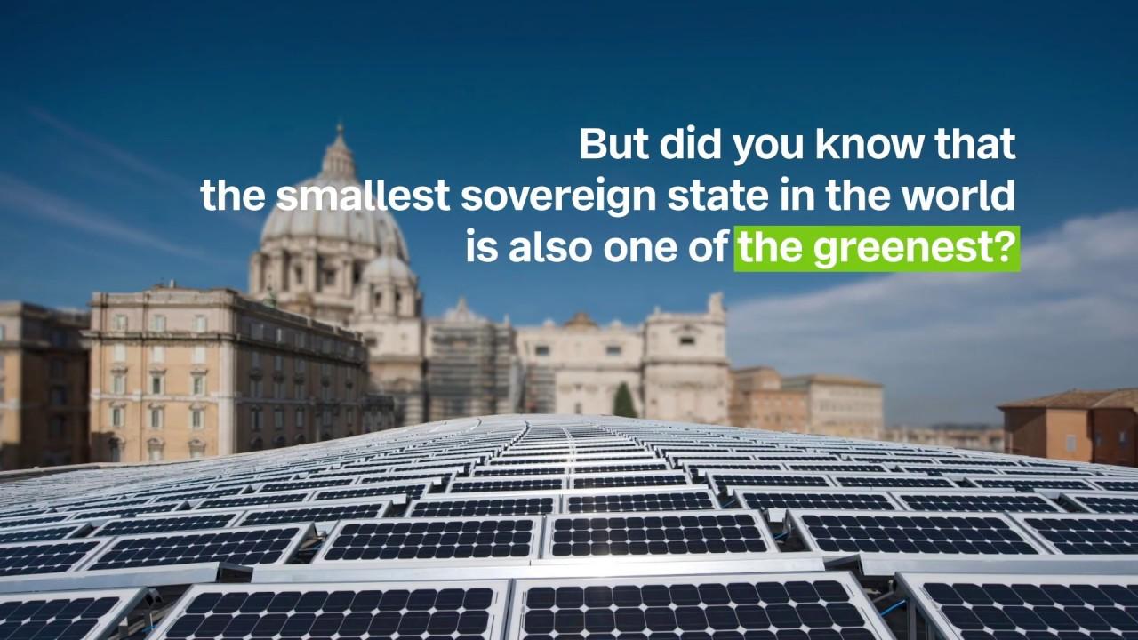 solar energy in the vatican