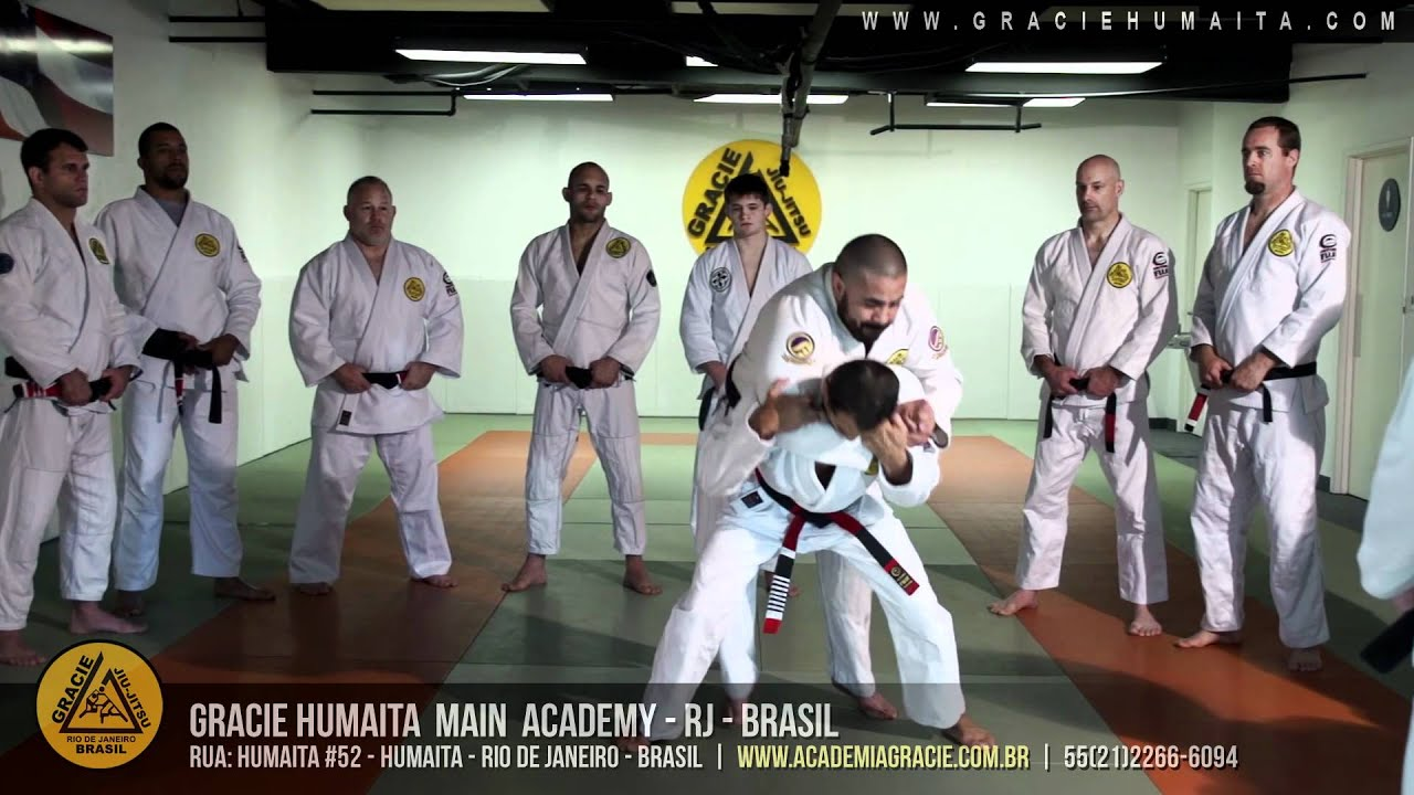 Gracie Humaita – The Academia Gracie was founded by Helio