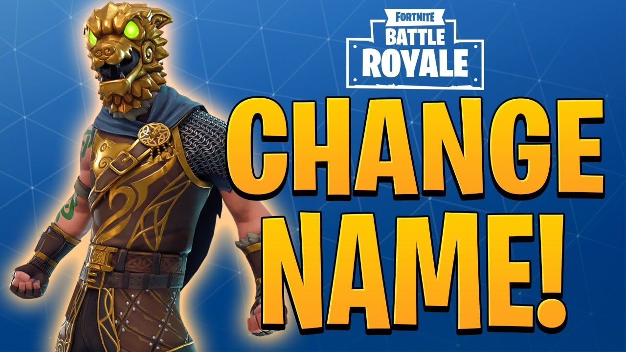 *NEW* CHANGE FORTNITE NAME ON CONSOLE!! (PS4 and XBOX ...