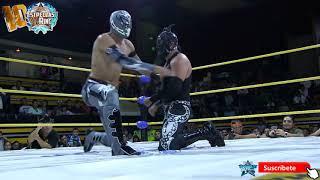 Aramis vs Demonio Infernal mano a mano en la Arena Naucalpan