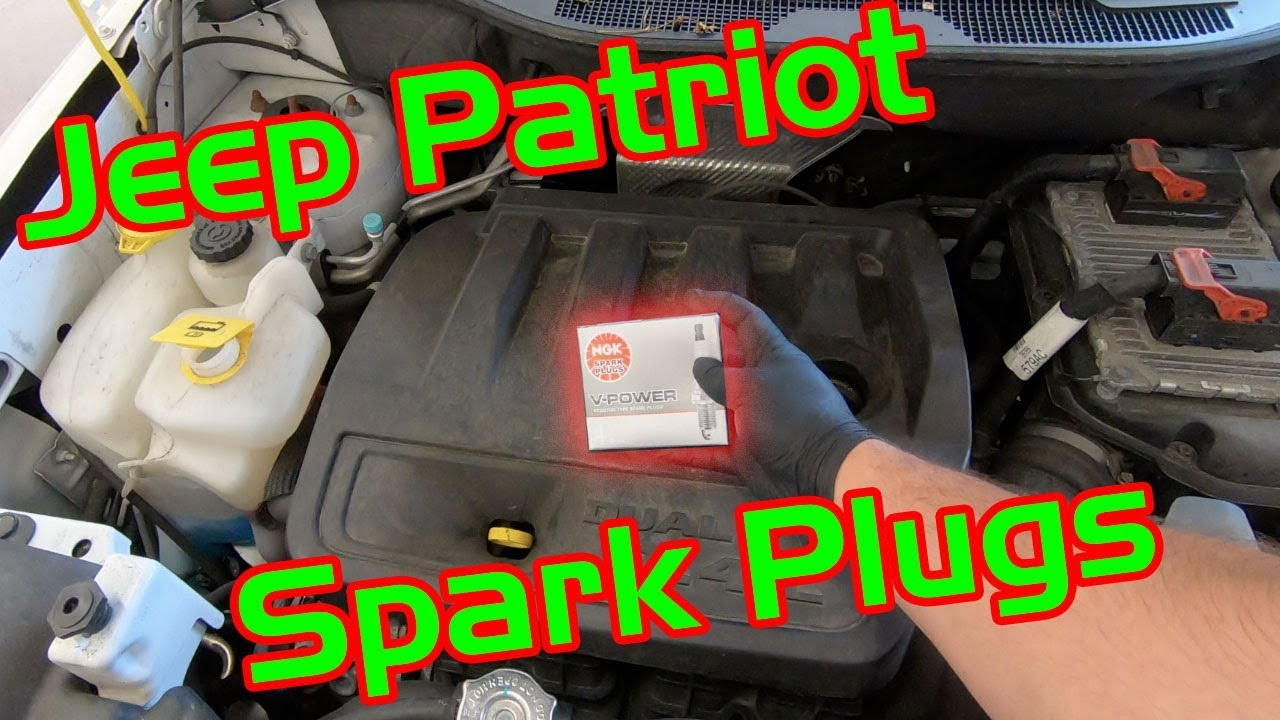 2011 2017 Jeep Patriot 2 4l Spark Plug Replacement Youtube