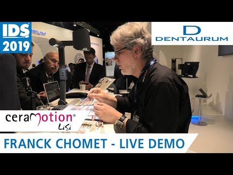 ceraMotion® LiSi: Lithium Disilicate in 3D-Master Colors | IDS 2019