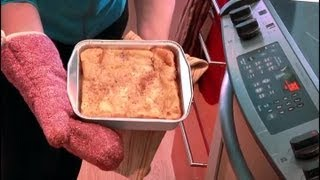 Bread Pudding With Cream Cheese & Bananas : Tasty Desserts